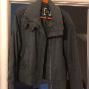 Jackets & Blazers - Gray jacket
